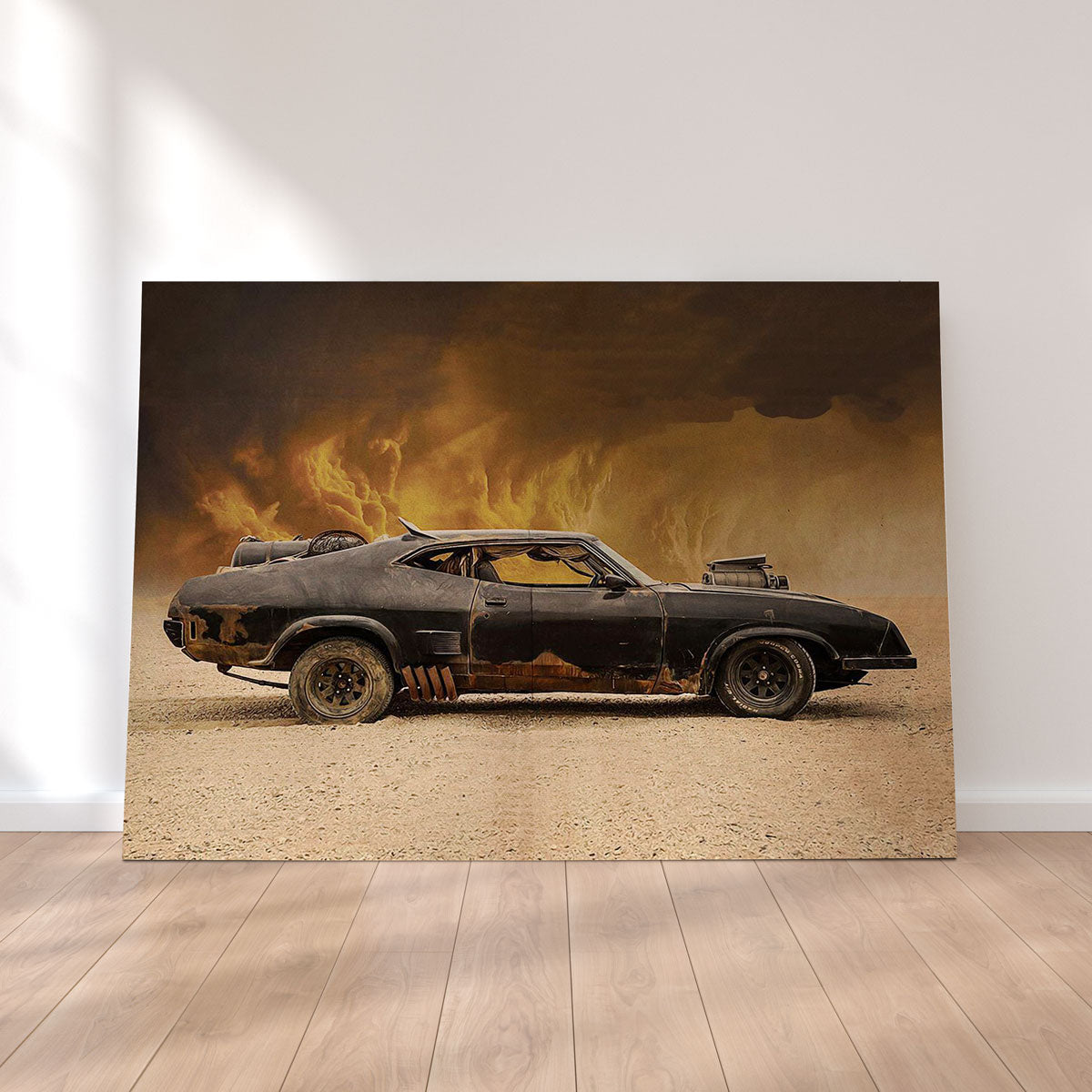Mad Max Interceptor Canvas Set