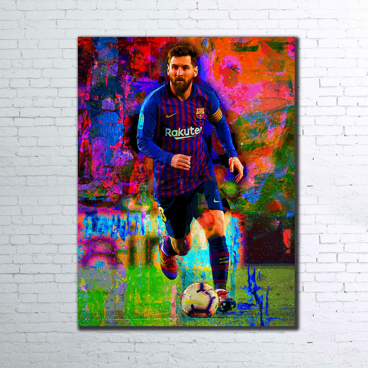 Messi Canvas Set