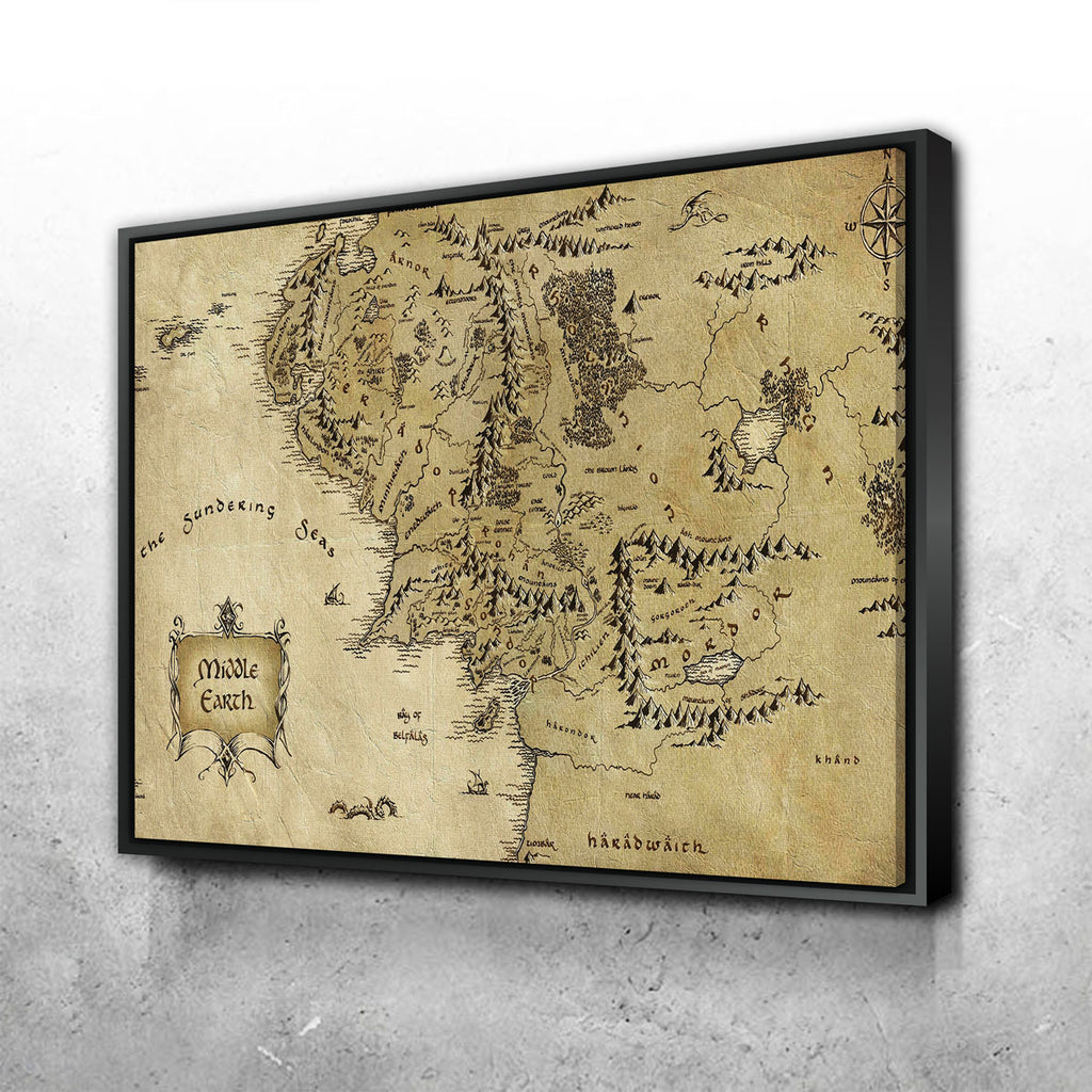 Middle Earth Canvas Set