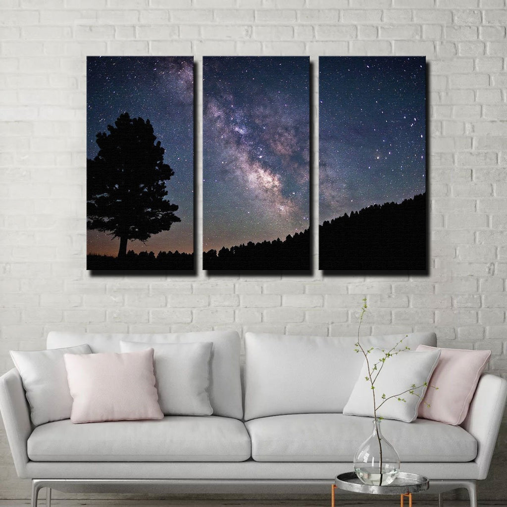 Milky Way Canvas Set