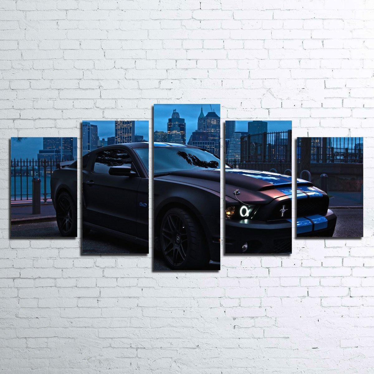 Ford Mustang GT500 5pc Canvas Set