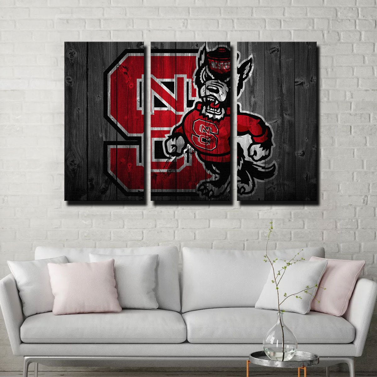 NC State Canvas Set