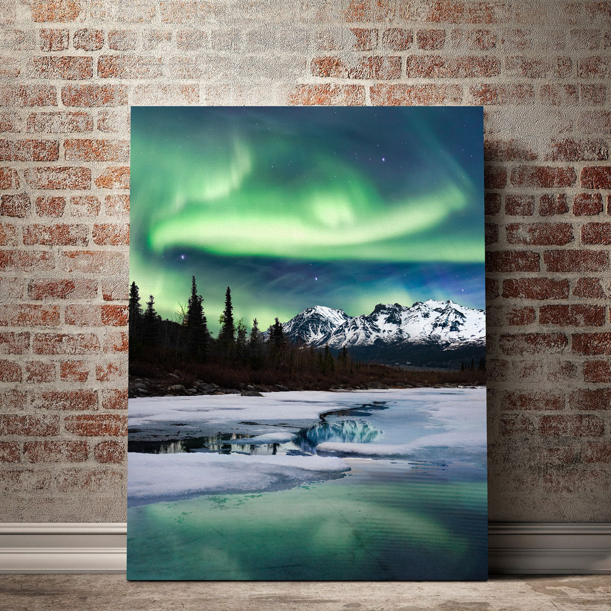 Northern Lights Landscape