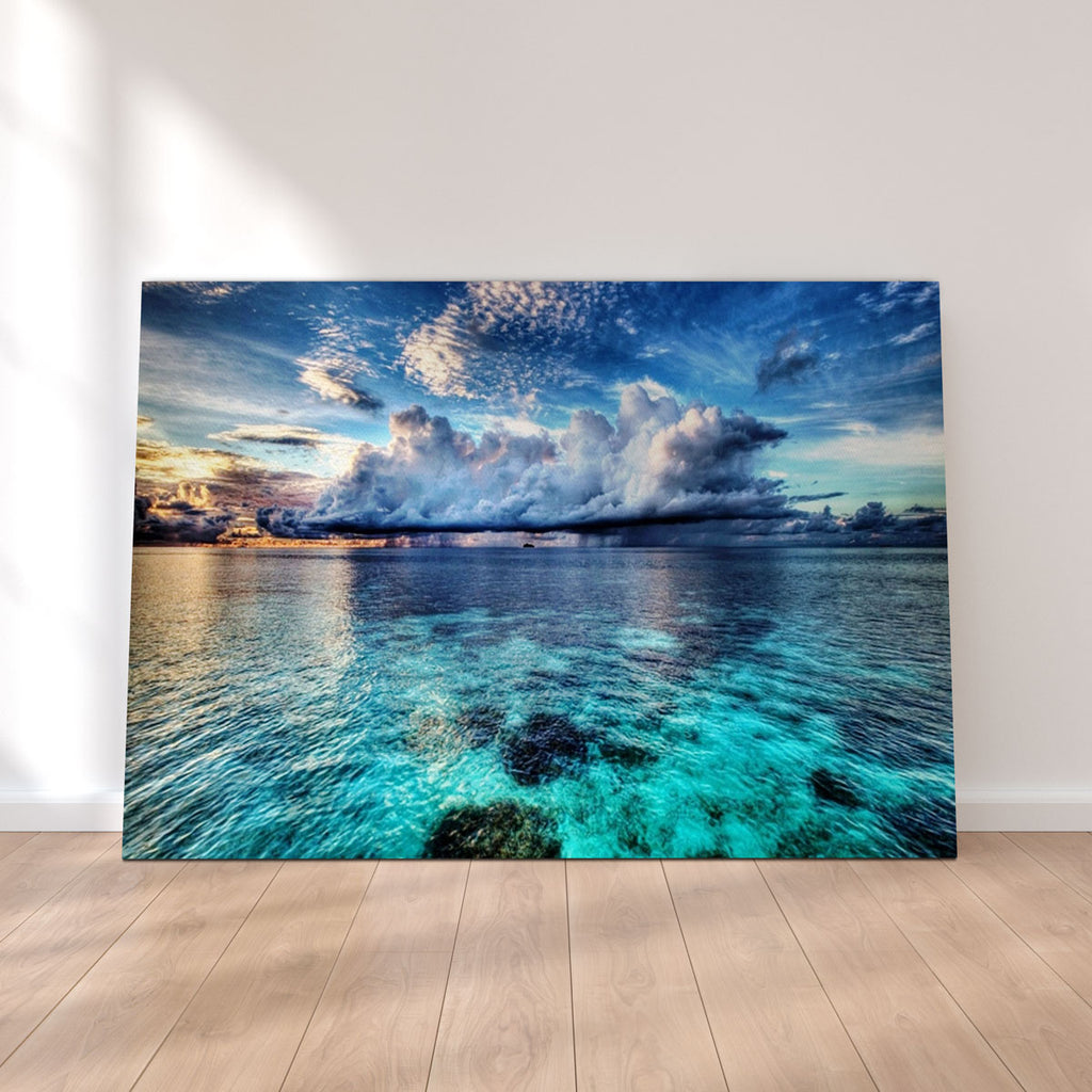 Ocean Landscape Canvas Set