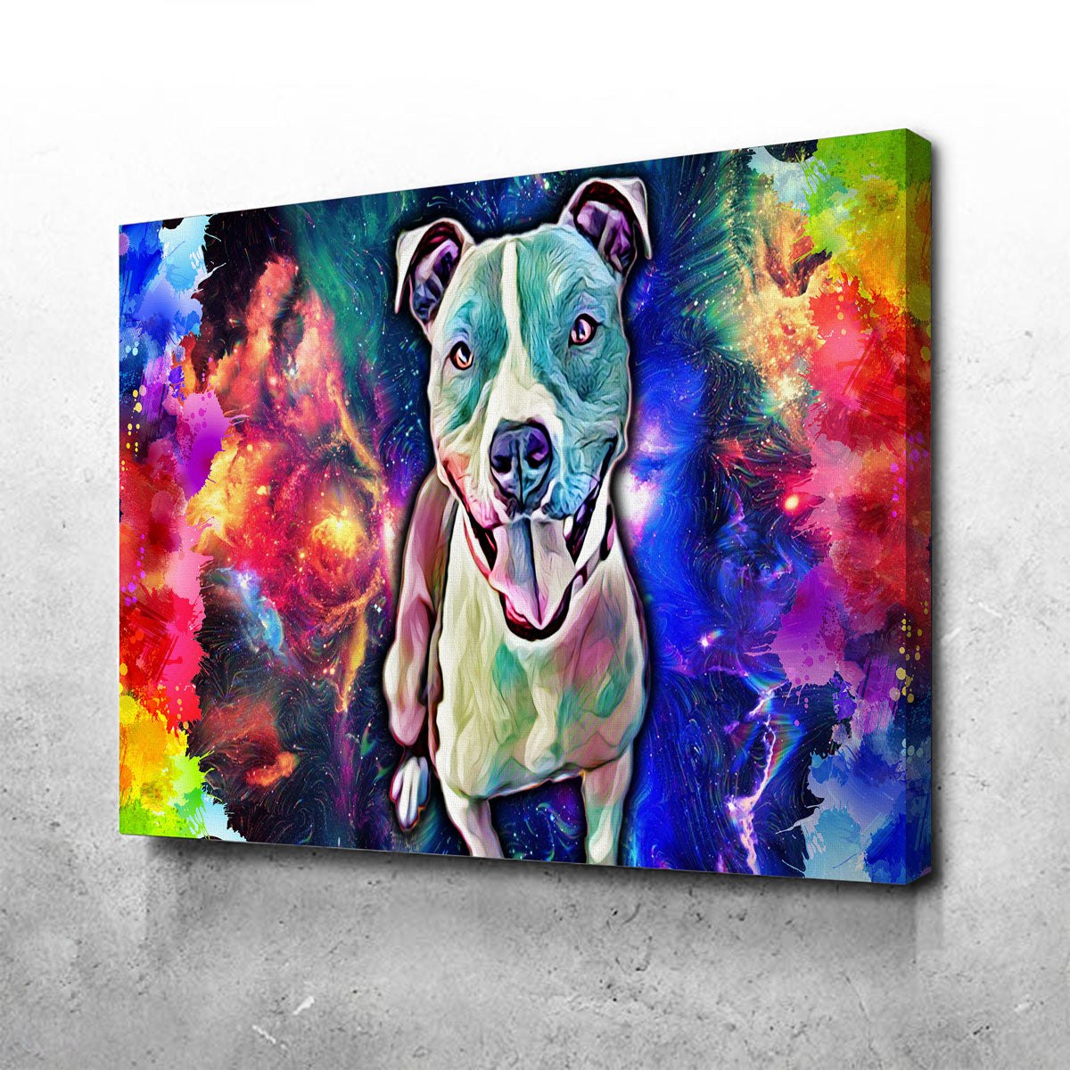 Pit Bull Canvas Set