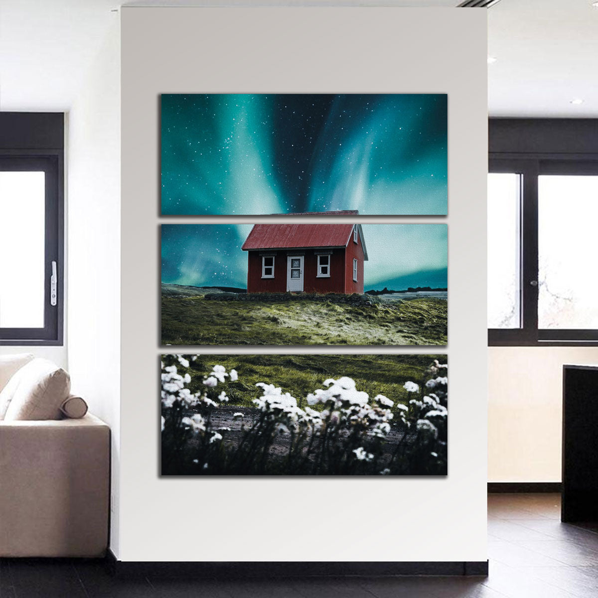 Red House Aurora Canvas Set