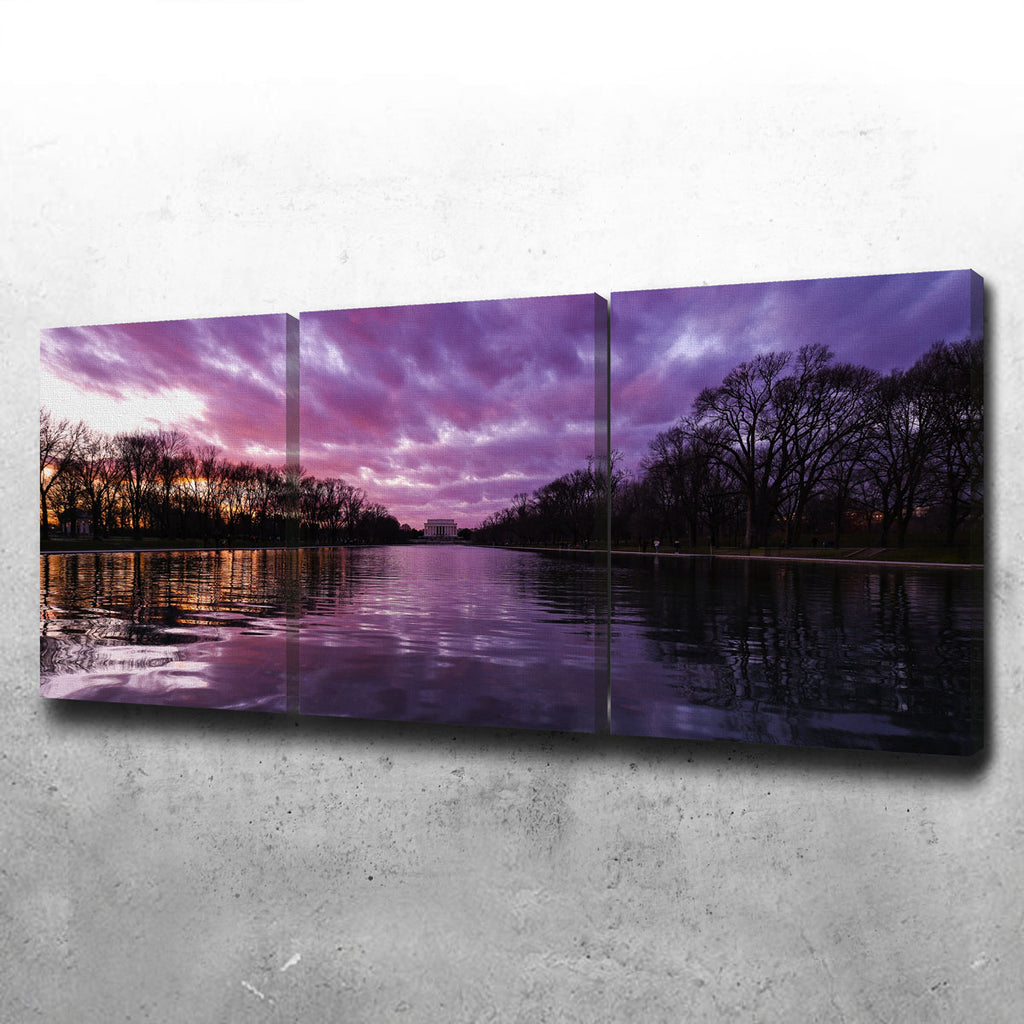 Reflecting Pool Canvas Set