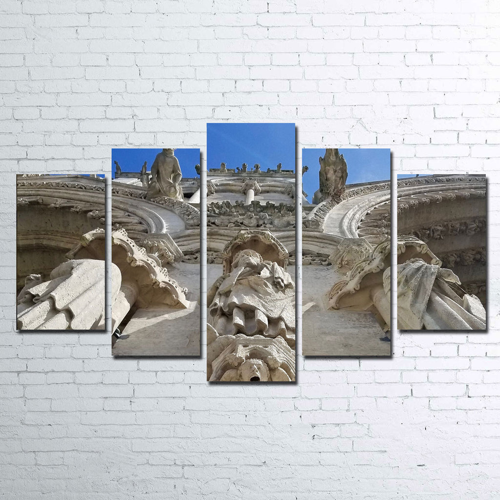 Reims Cathedral Gargoyles