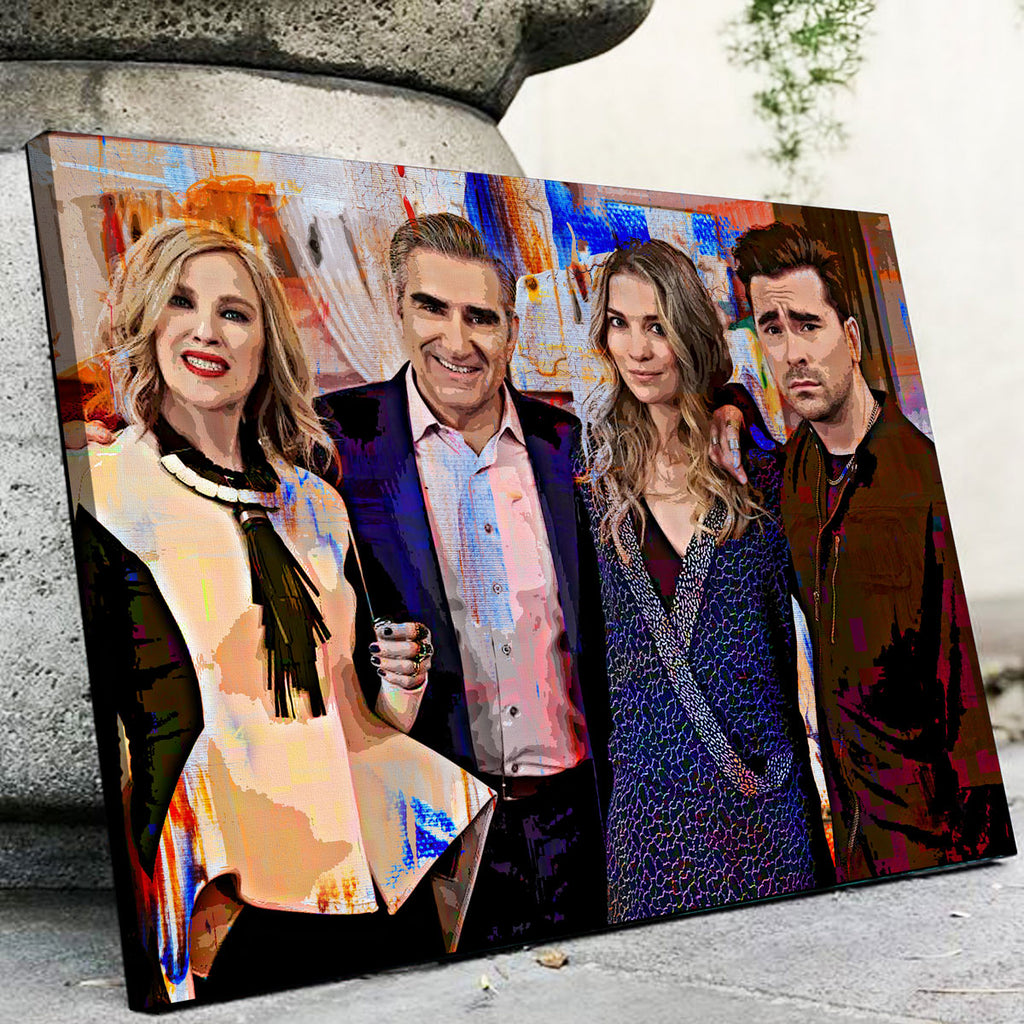 Schitt's Creek Canvas Set