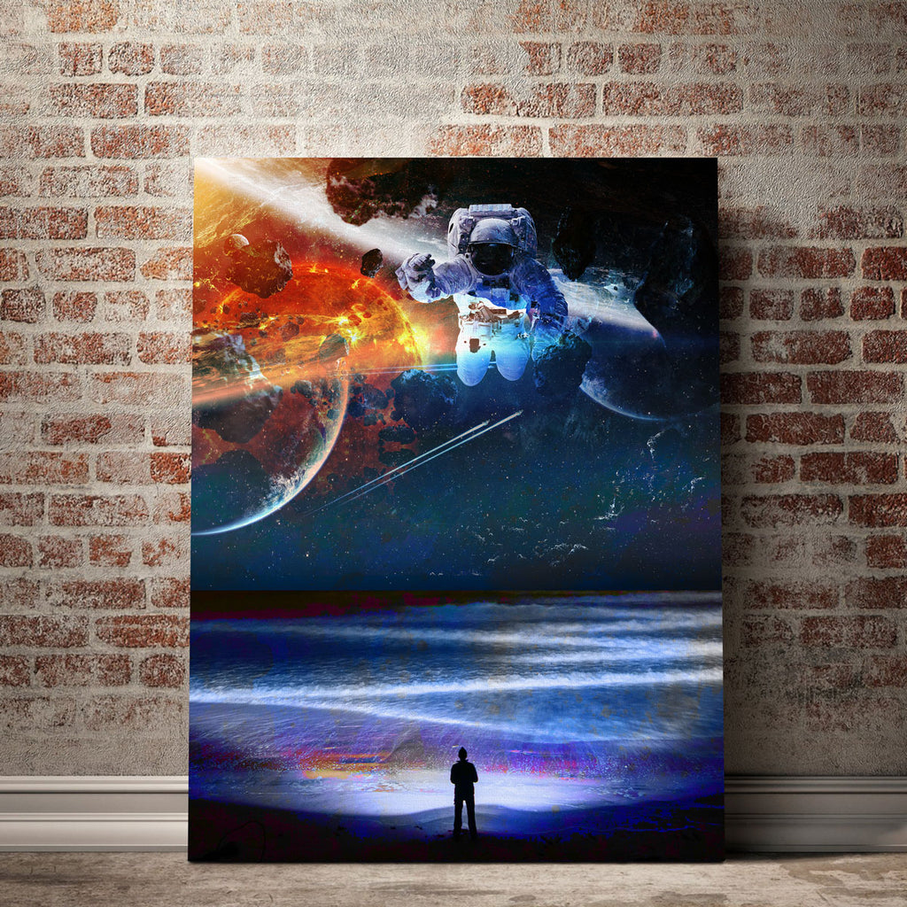 Sea and Space Canvas Set