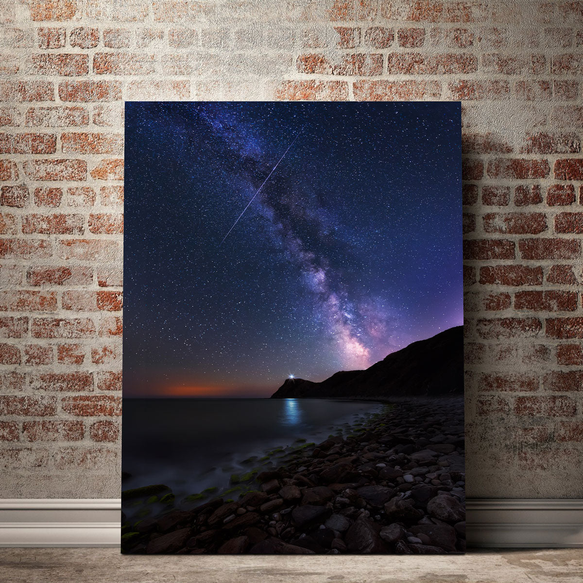 Space Lighthouse Canvas Set