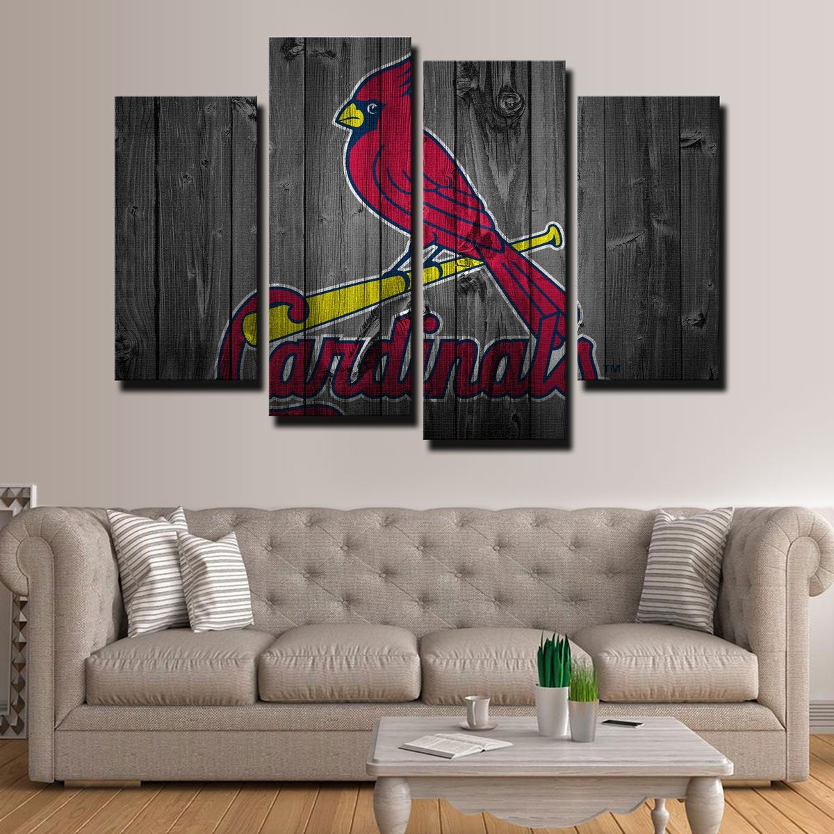St. Louis Cardinals Canvas Set