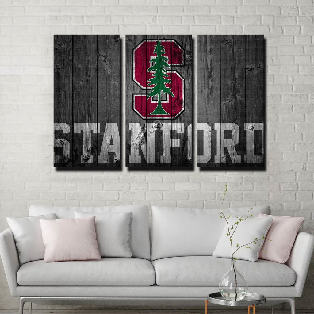 Stanford Cardinal Canvas Set