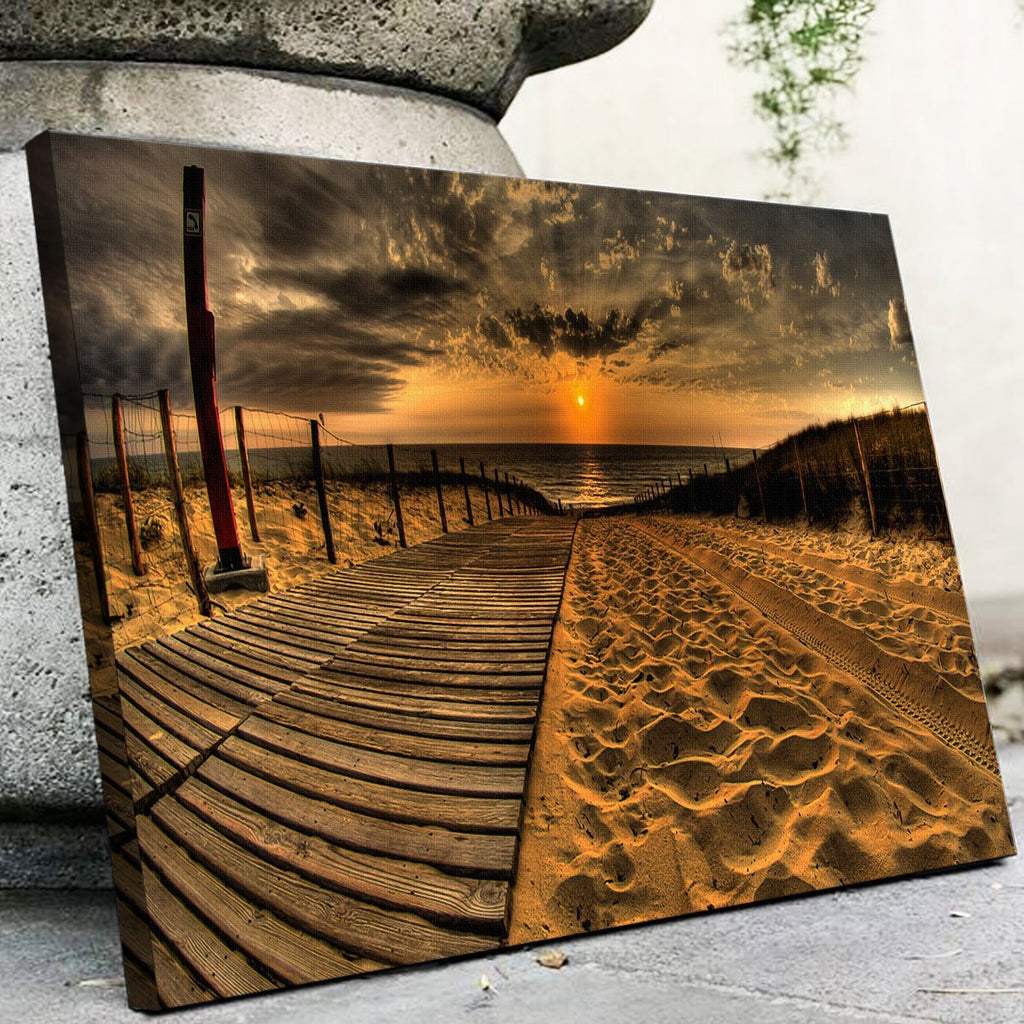 Sunset Beach Canvas Set