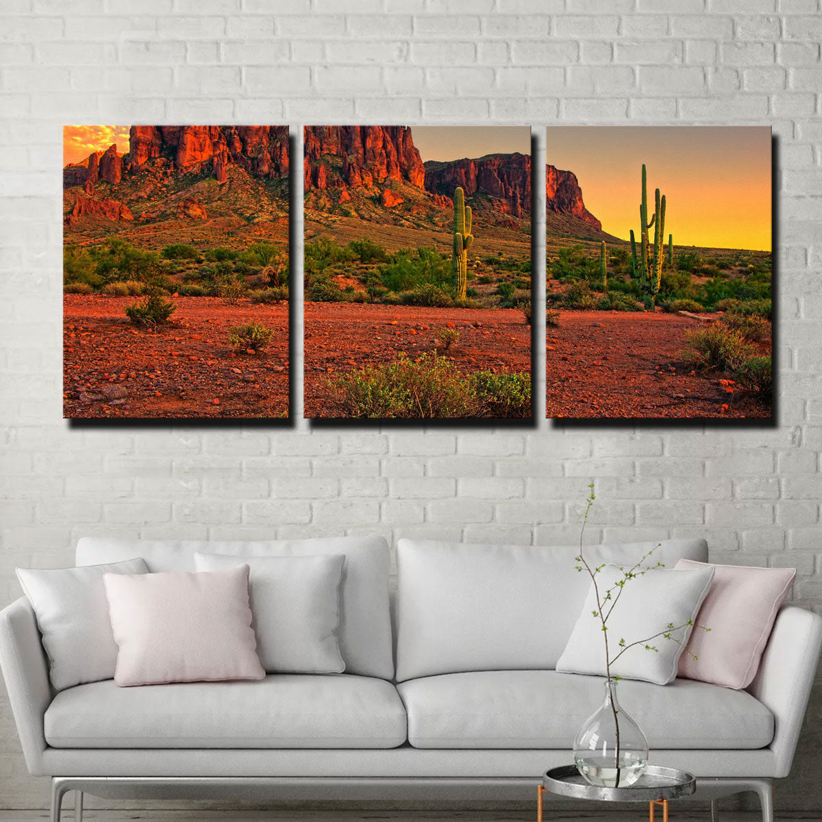 Superstition Mountains Sunset