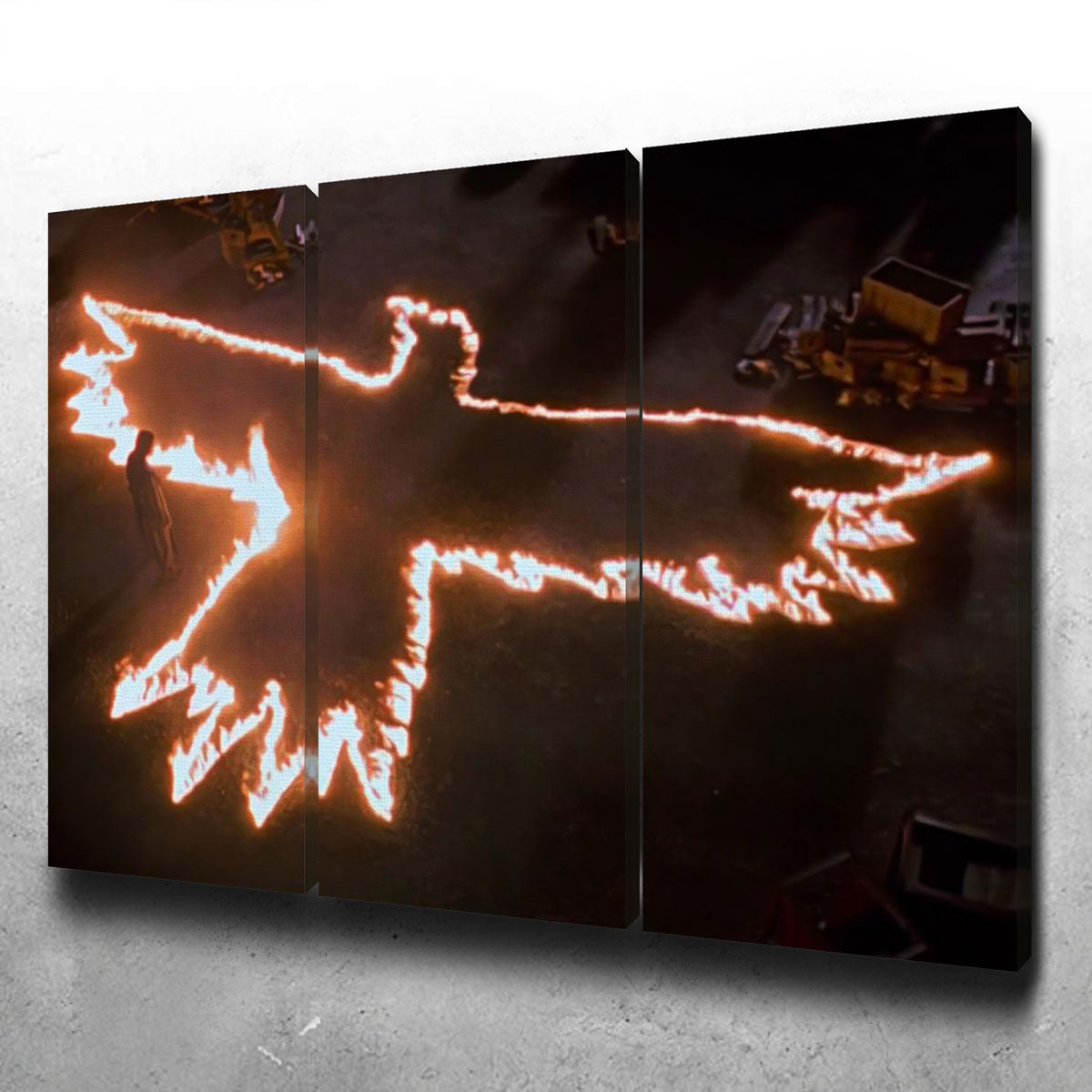 The Crow Canvas Set