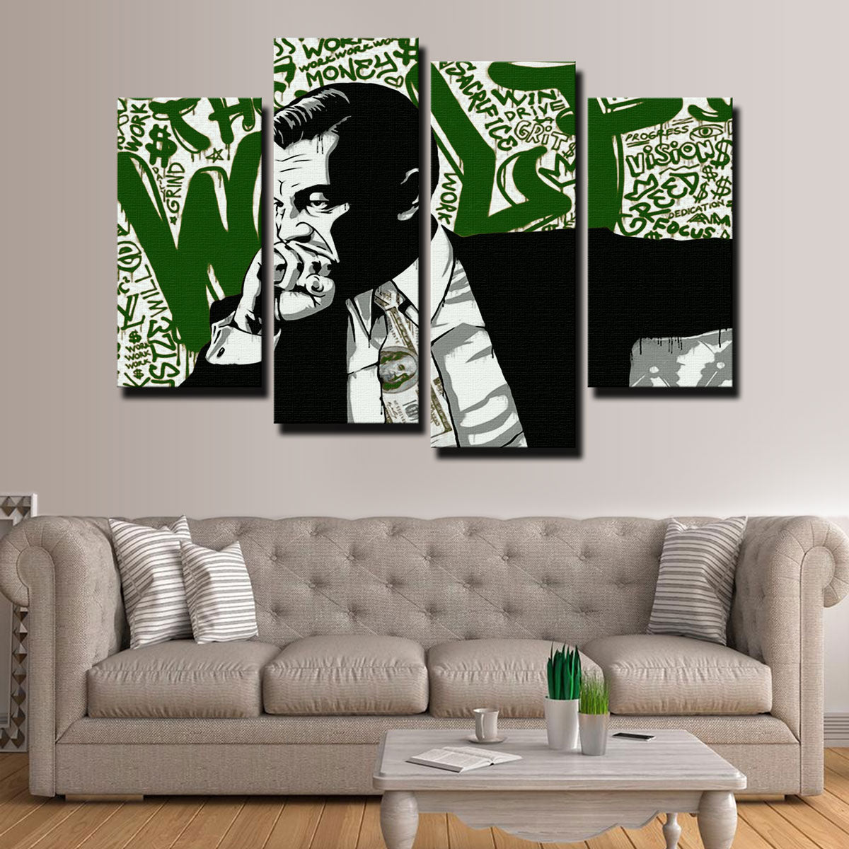 The Wolf Canvas Set