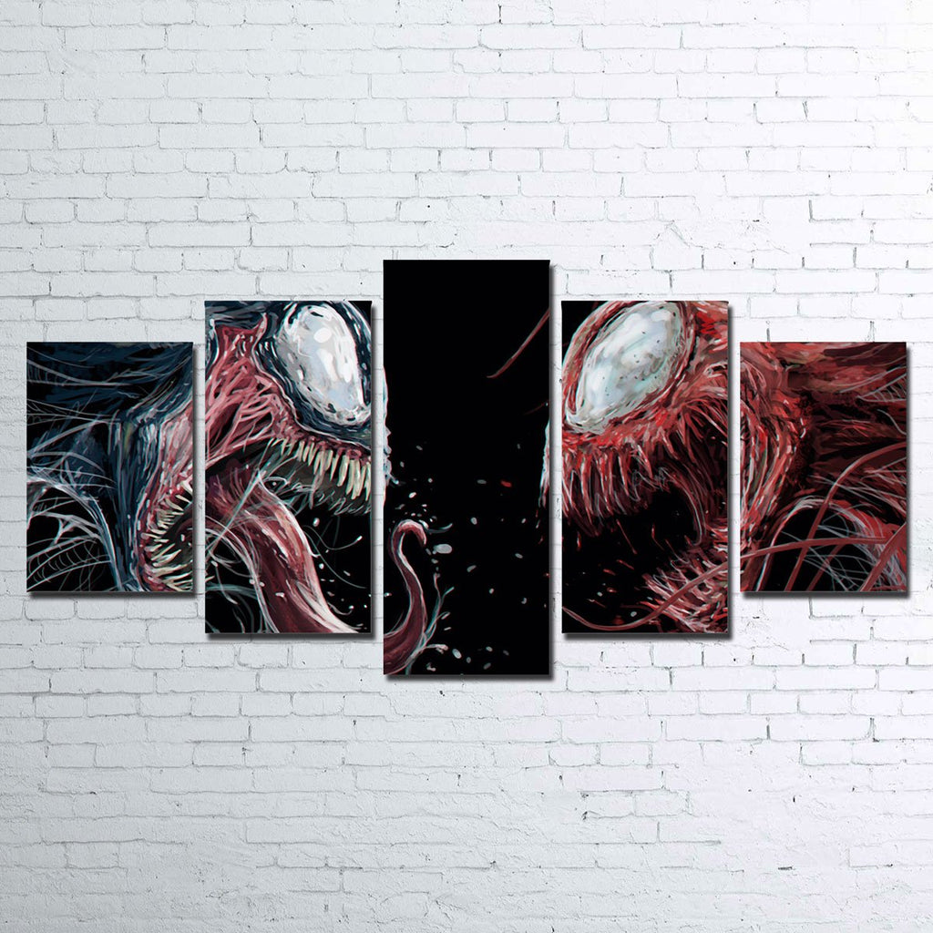 Carnage vs. Venom Canvas Set