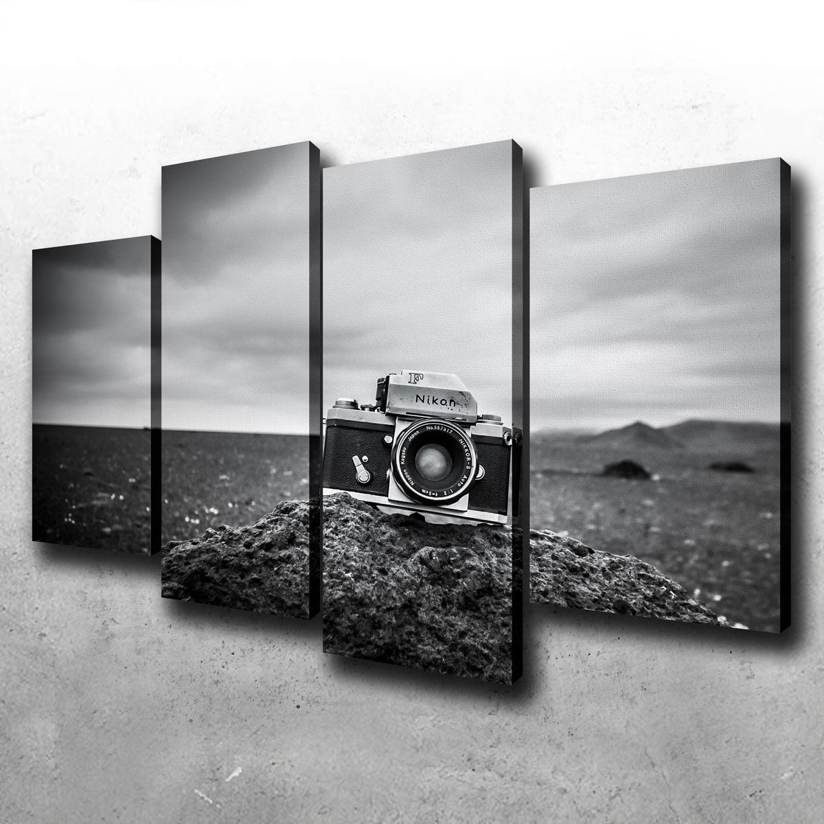 Vintage Iceland Canvas Set