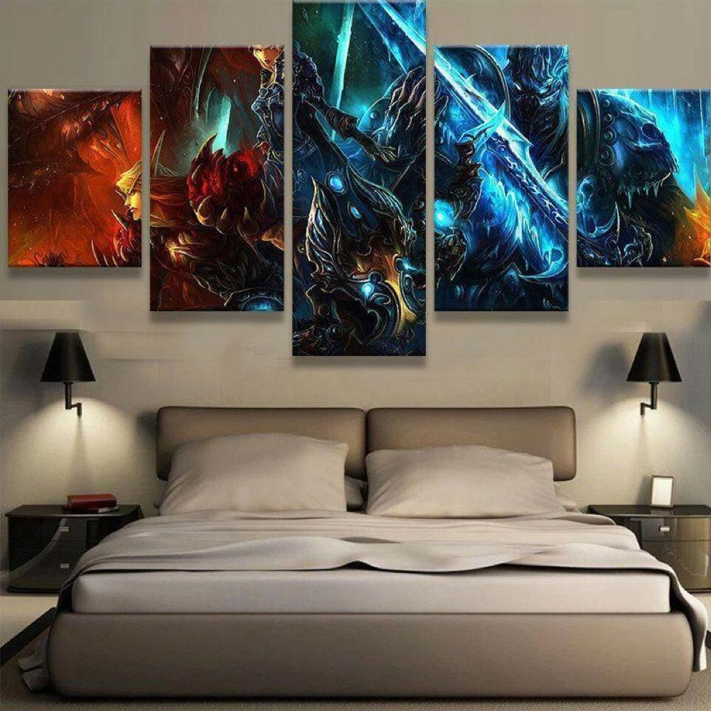 WOW V2 5 Piece Canvas