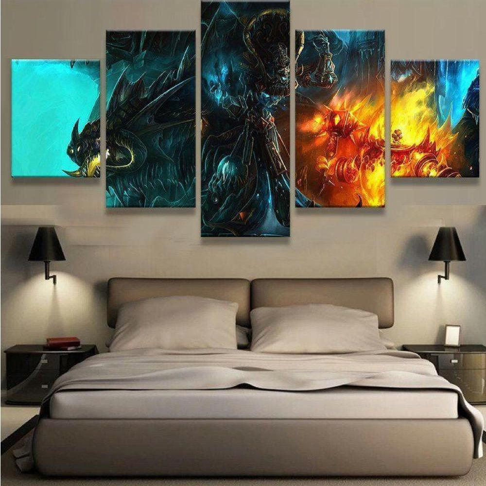 WOW V3 5 Piece Canvas