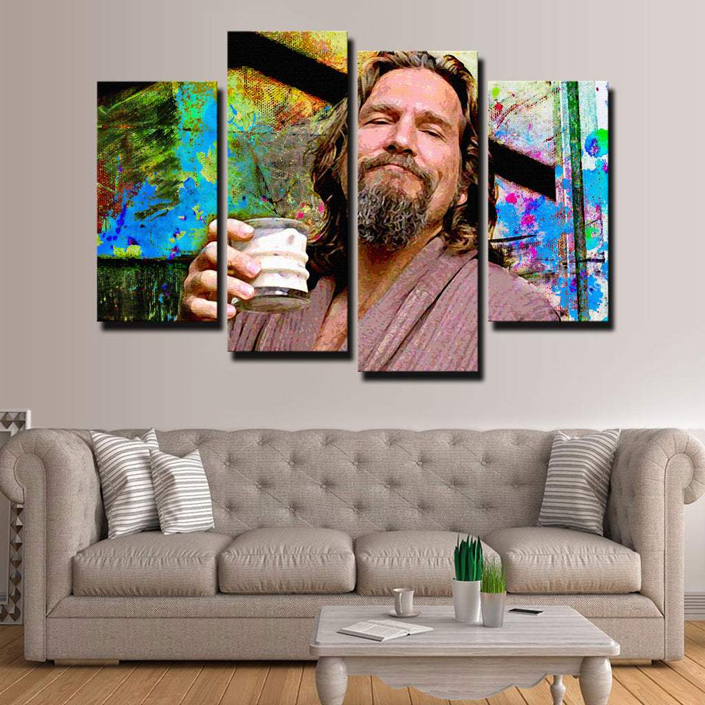 White Russian Canvas Set