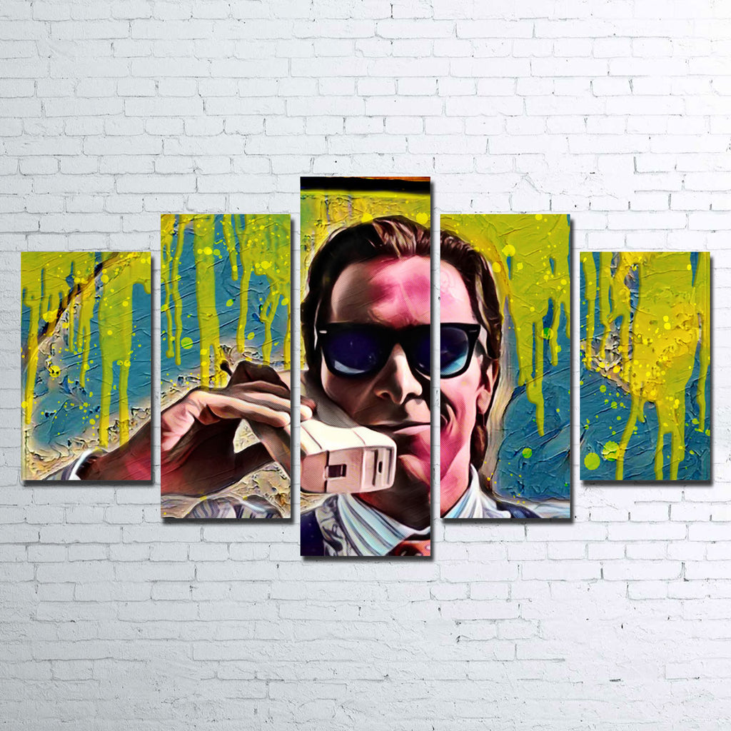 Patrick Bateman Canvas Set