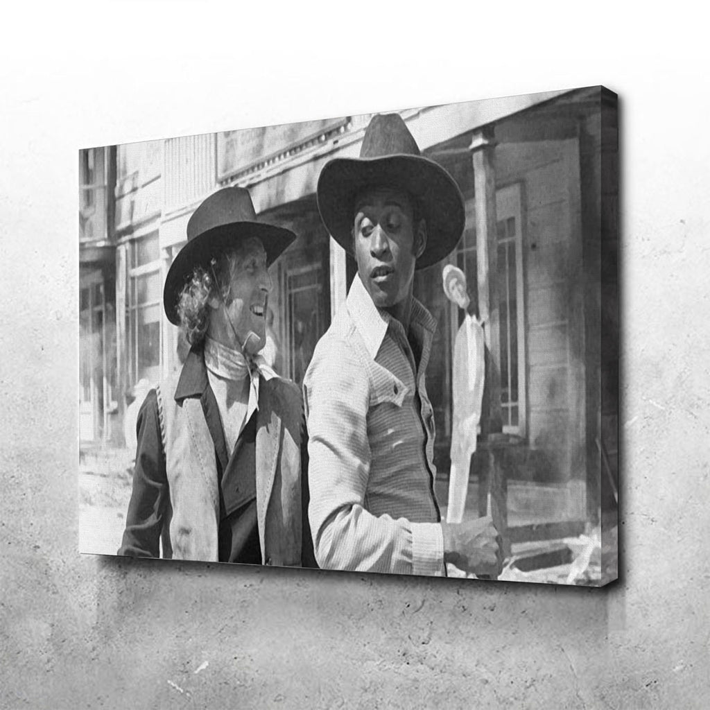 Blazing Saddles Canvas Set