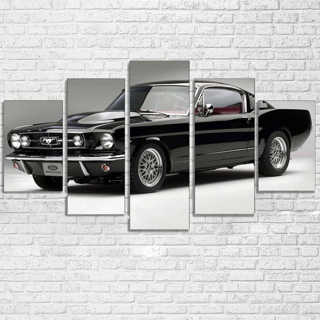 Canvas - 1965 Mustang Fastback 5 Piece Canvas Set