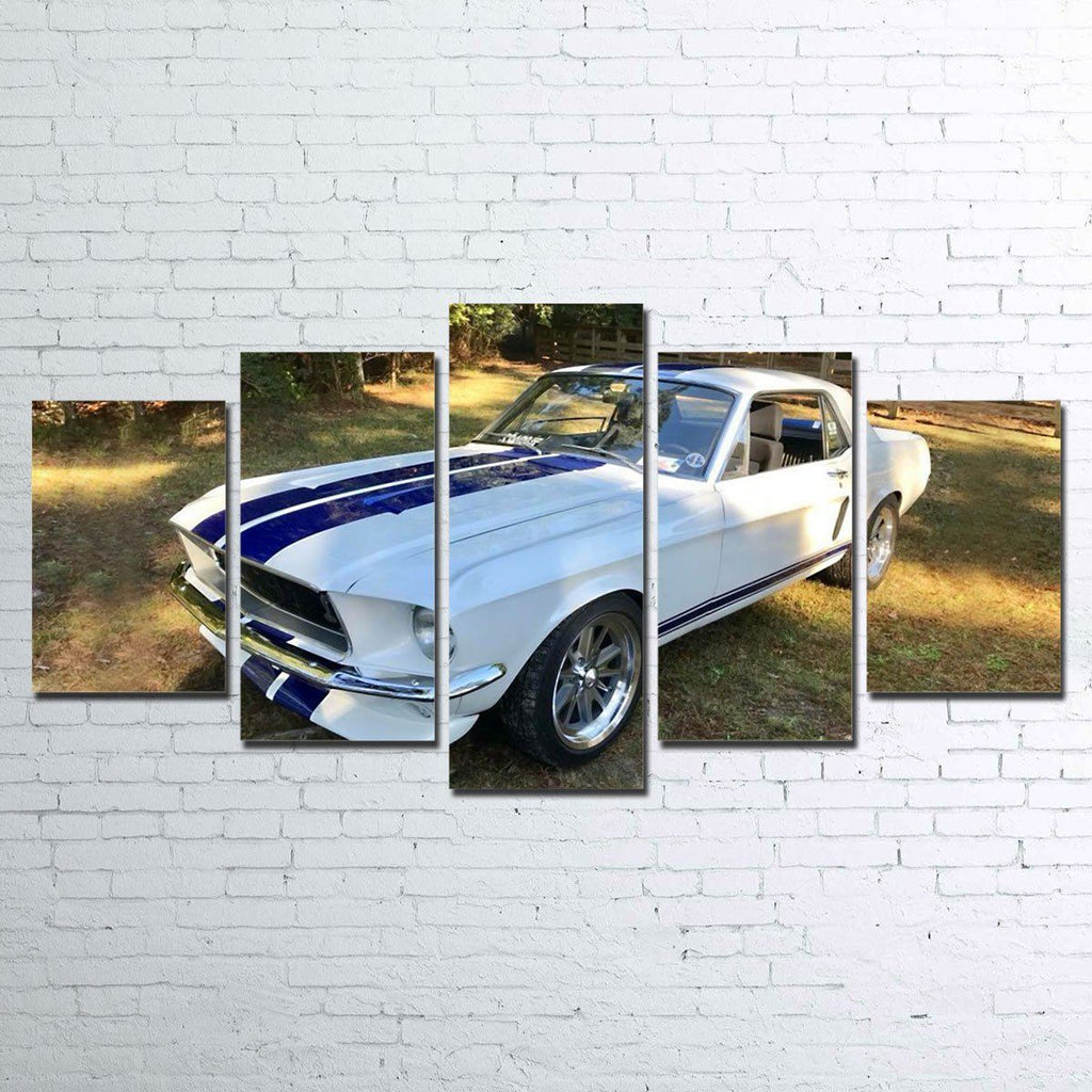 Canvas - '68 Mustang 5 Piece Canvas Set
