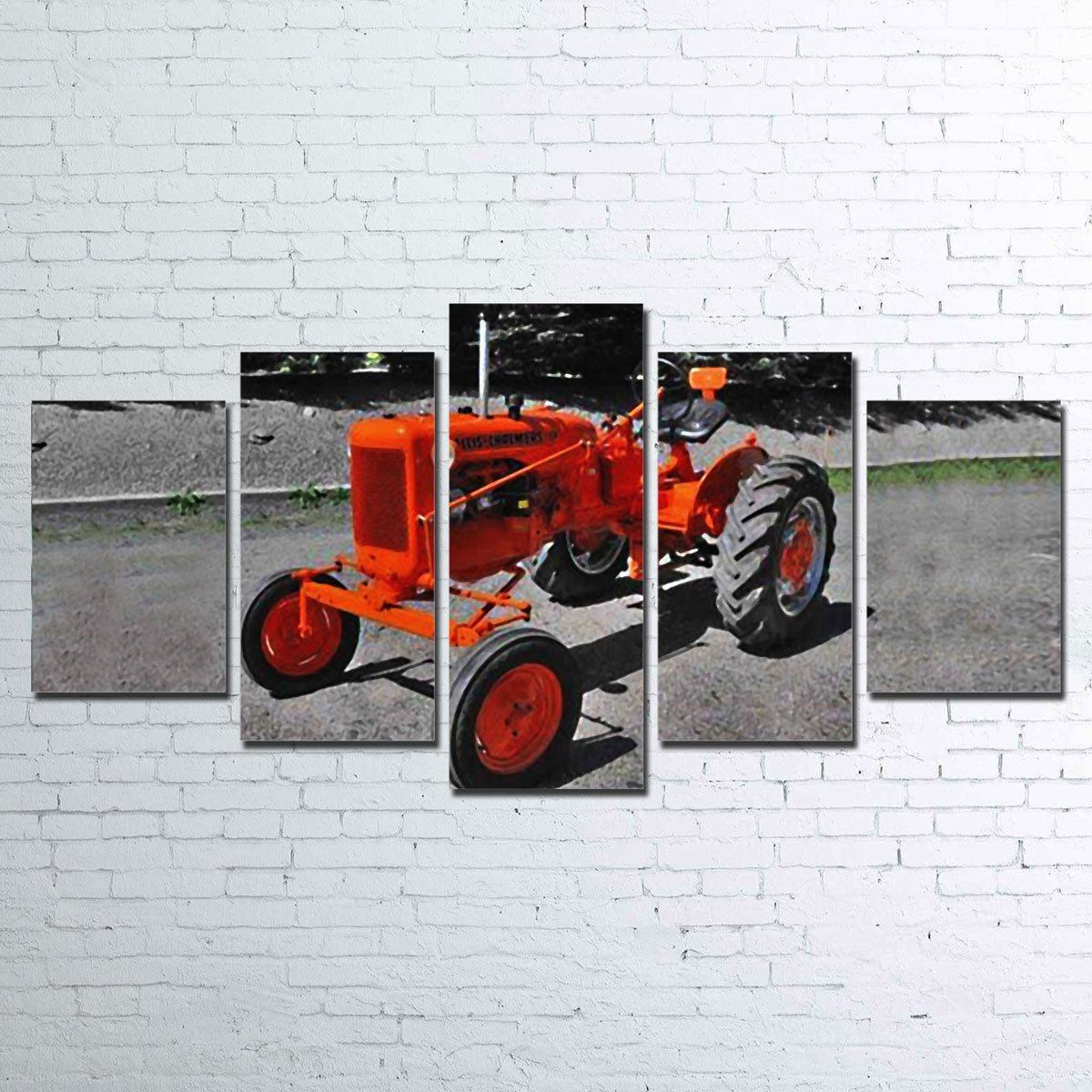 Canvas - Allis Chalmers CA 5 Piece Canvas Set