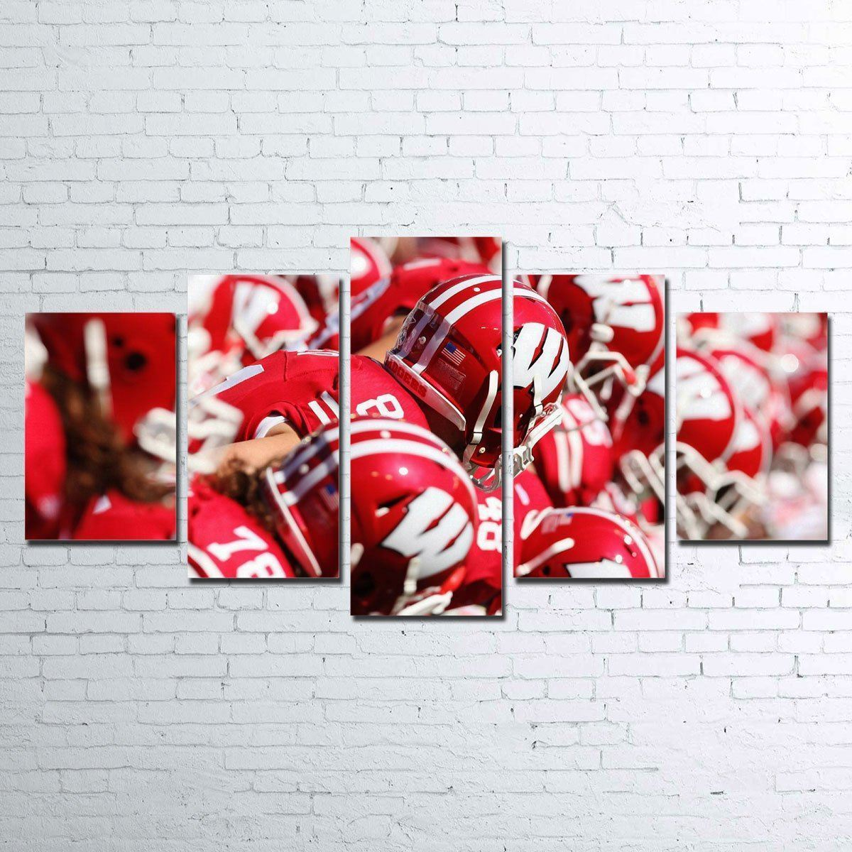 Canvas - Badgers 5 Piece Canvas Set