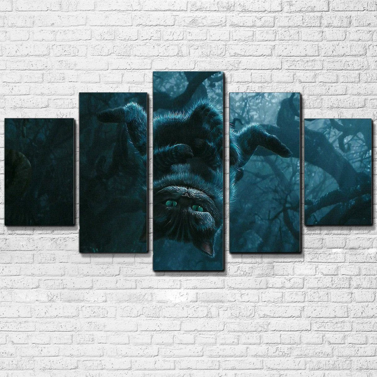 Canvas - Cheshire Cat 5 Piece Canvas Set