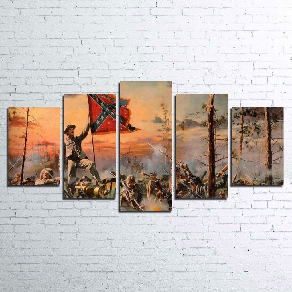 Canvas - Civil War 5 Piece Canvas Set