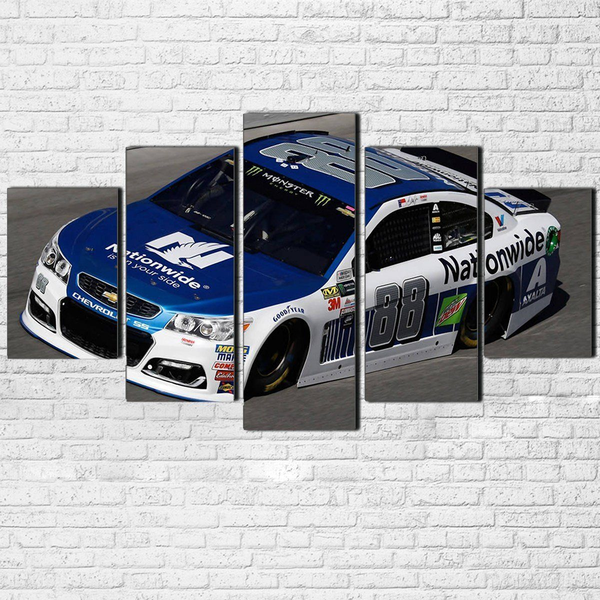 Canvas - Dale Earnhardt Jr. 5 Piece Canvas