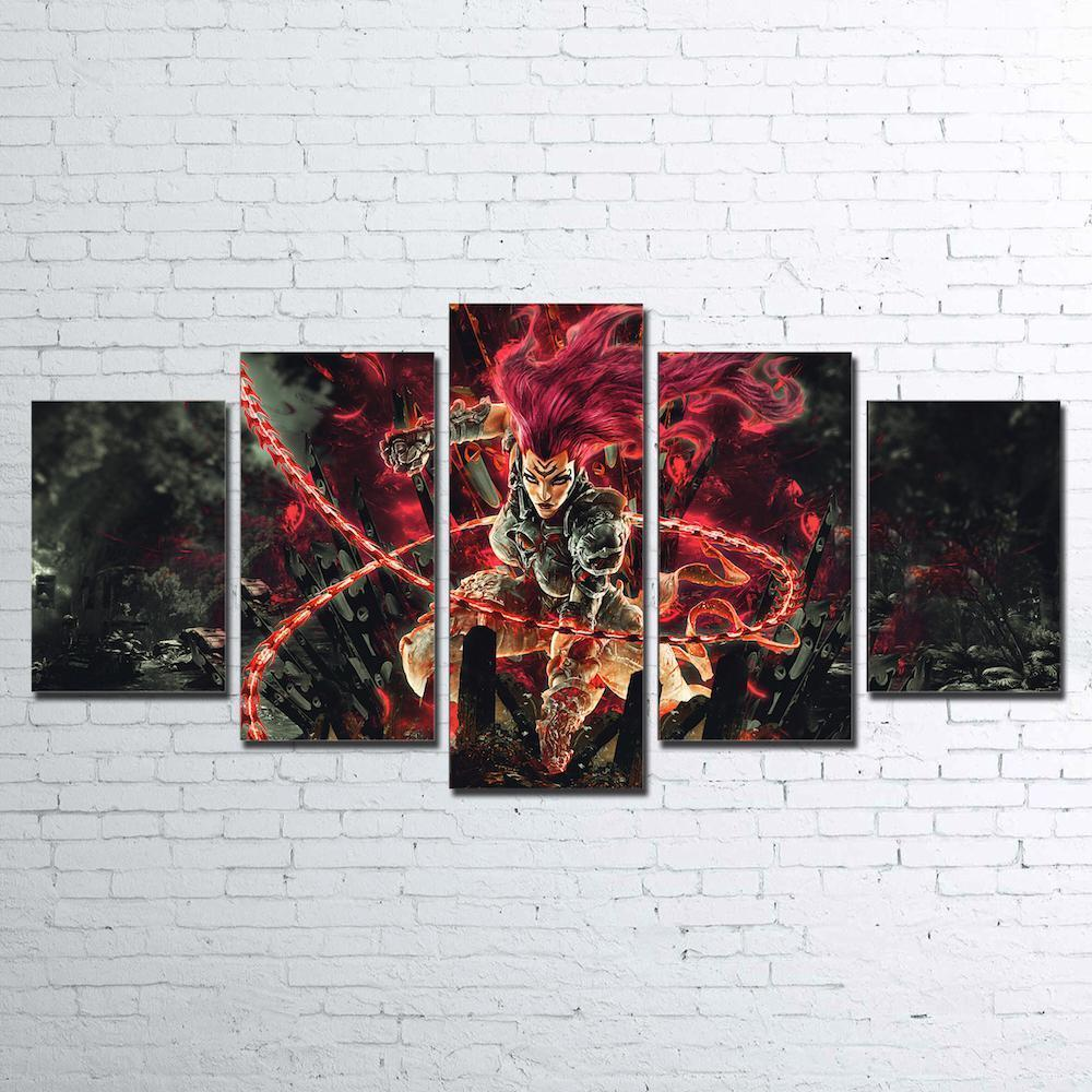 Canvas - Darksiders 5 Piece Canvas