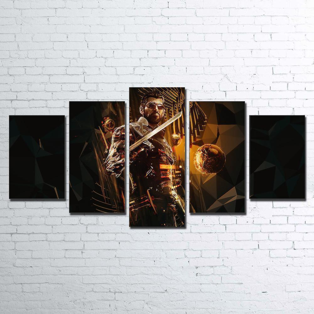 Canvas - Deus Ex 5 Piece Canvas