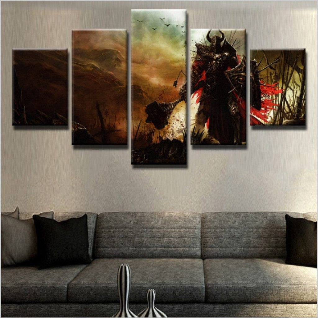 Canvas - Diablo 3 - 5 Piece Canvas