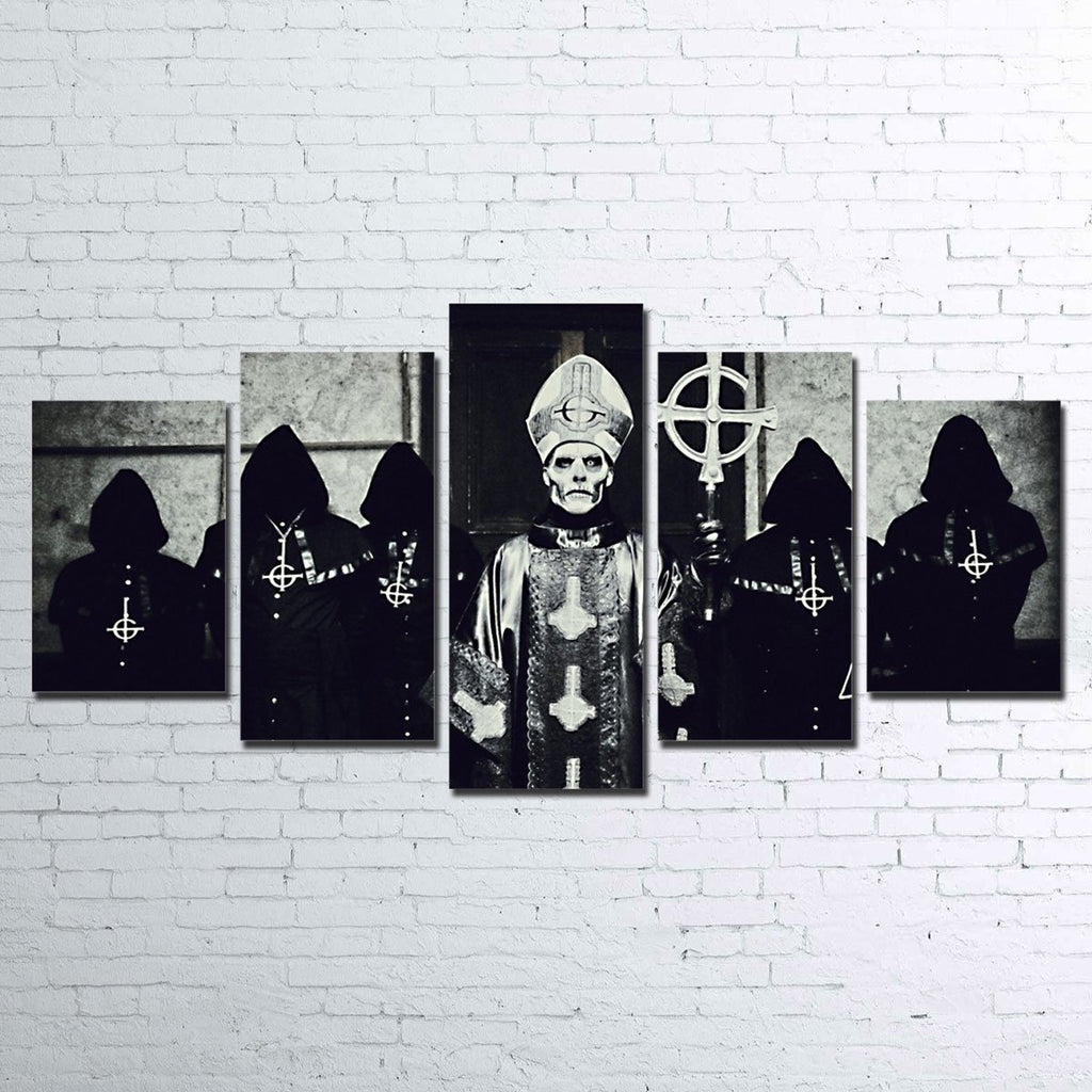 Canvas - Ghost Band 5 Piece Canvas Set