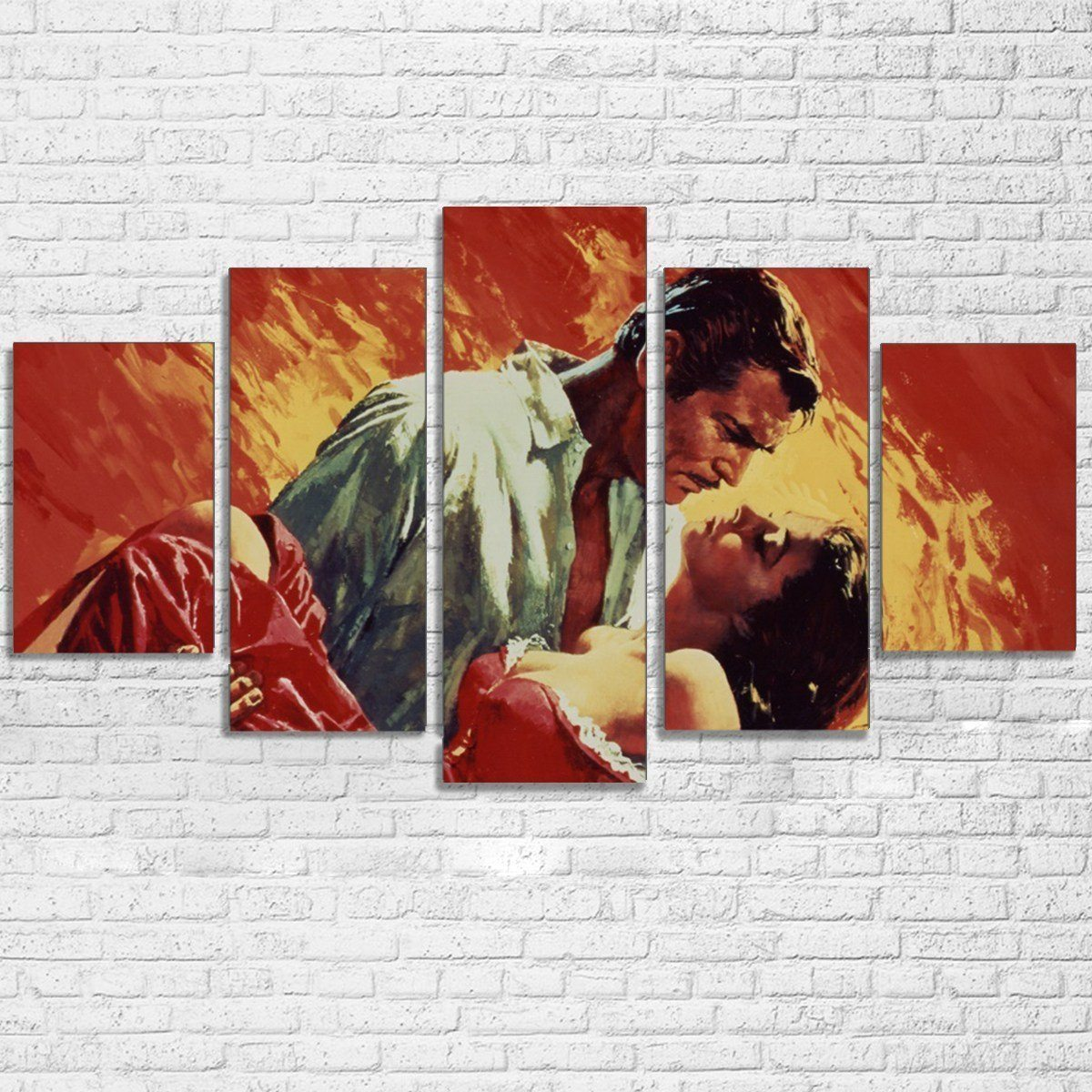 Canvas - Gone With The Wind 5 Piece Canvas Set