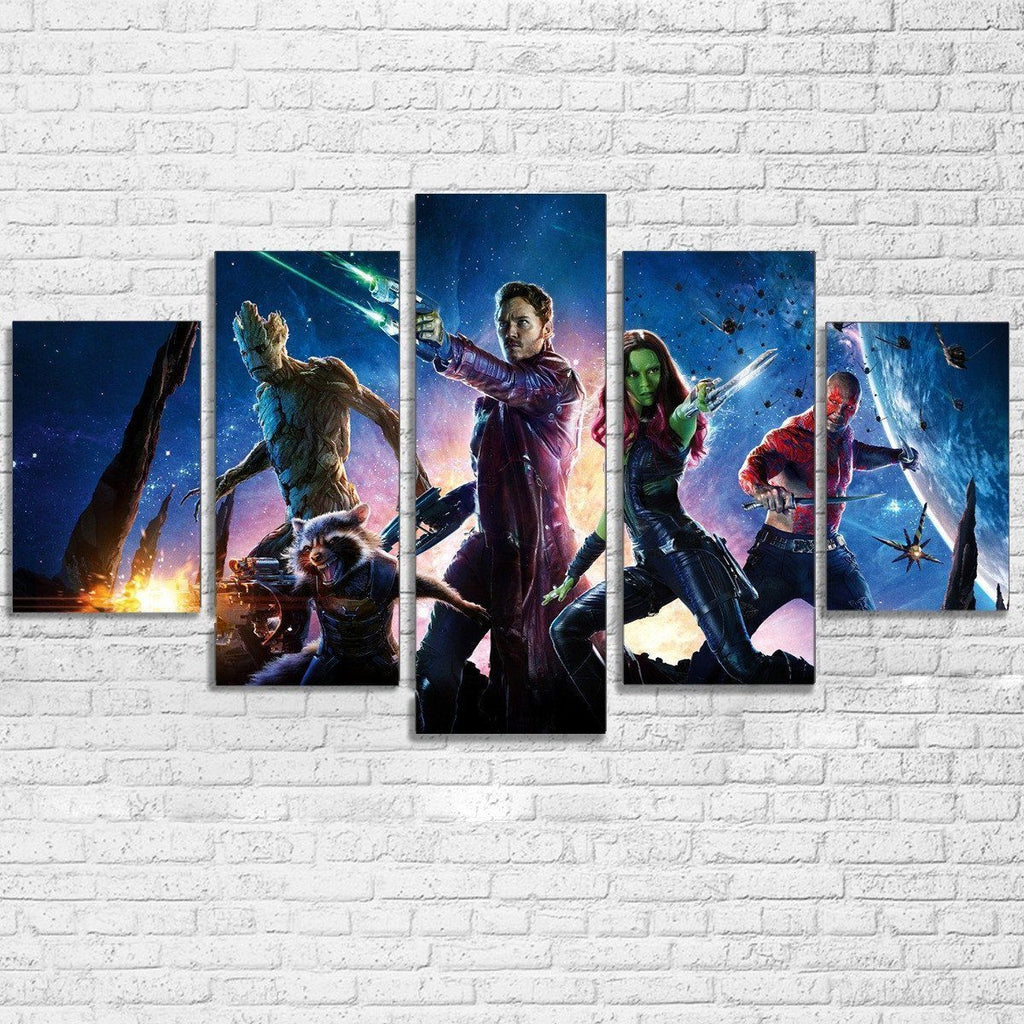 Canvas - Guardians Of The Galaxy 5 Piece Canvas Set