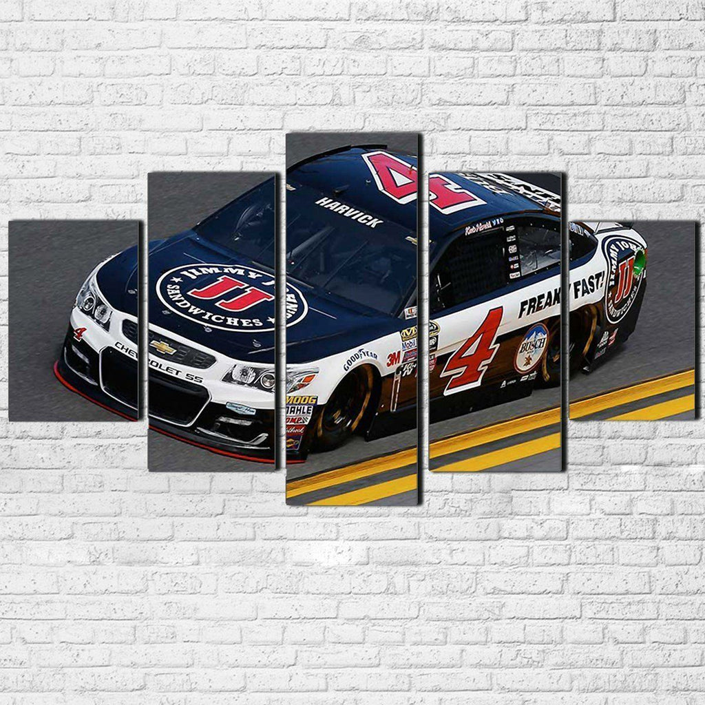 Canvas - Kevin Harvick 5 Piece Canvas