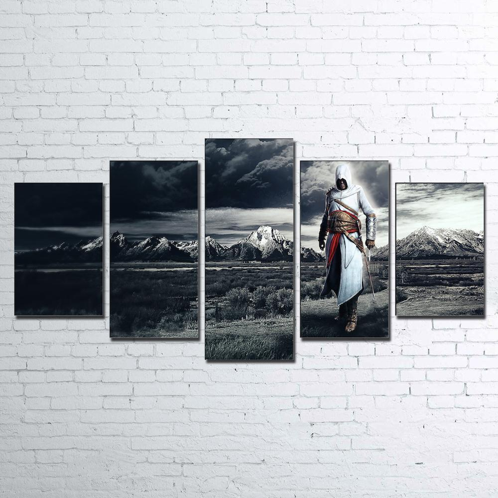 Canvas - Limited Edition Altair 5 Piece Canvas