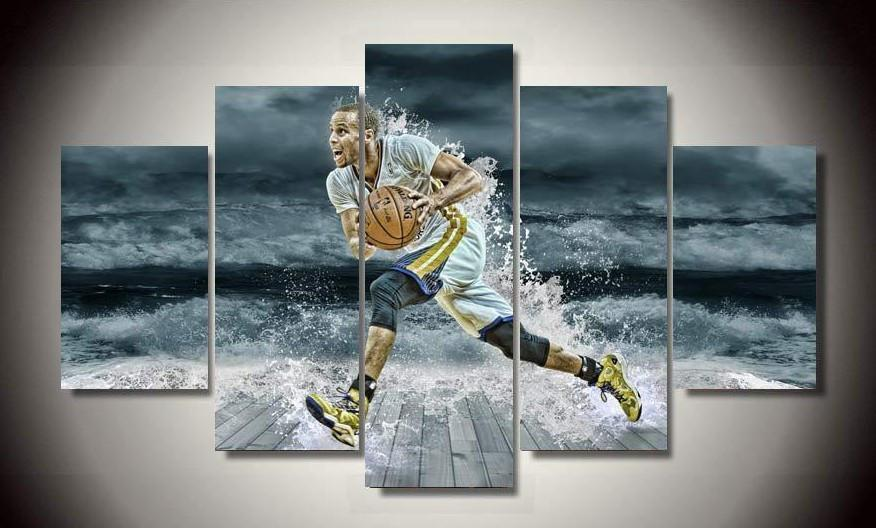 Canvas - Limited Edition Curry 5 Piece Canvas