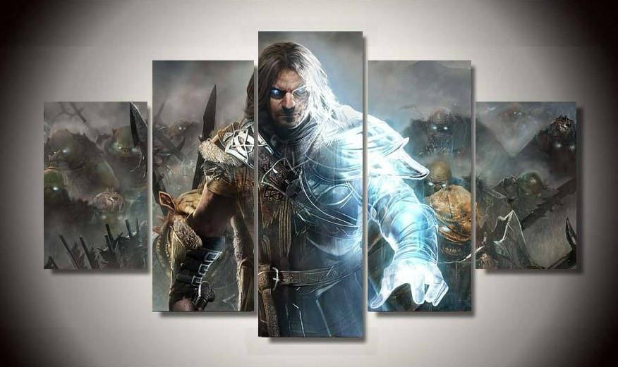 Canvas - Limited Edition Middle Earth 5 Piece Canvas