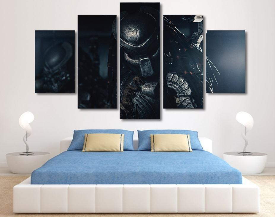 Canvas - Limited Edition Predator 5 Piece Canvas