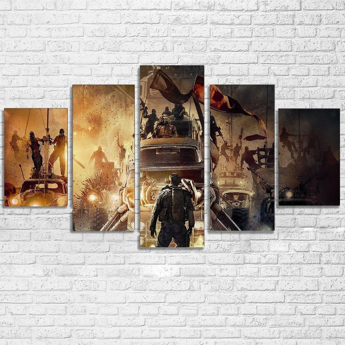 Canvas - Mad Max 5 Piece Canvas Set
