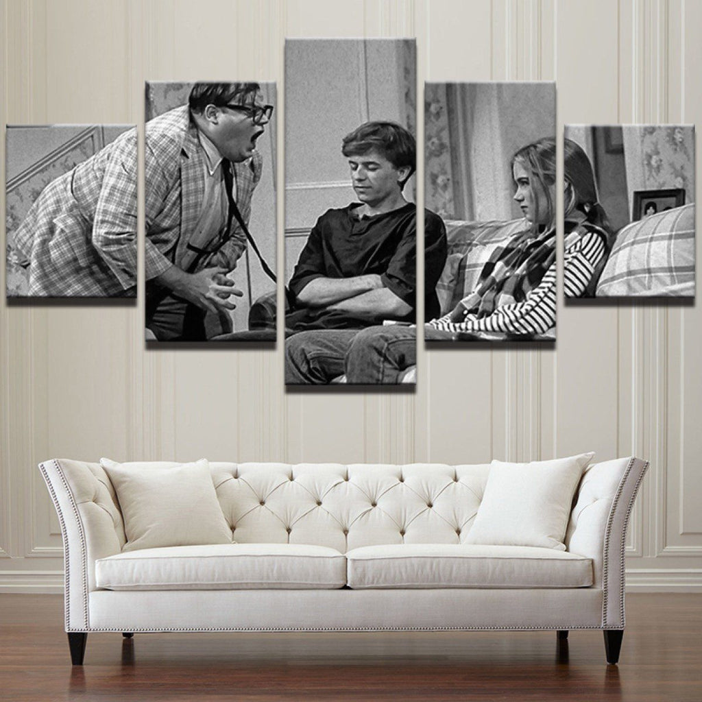 Canvas - Matt Foley 5 Piece Canvas