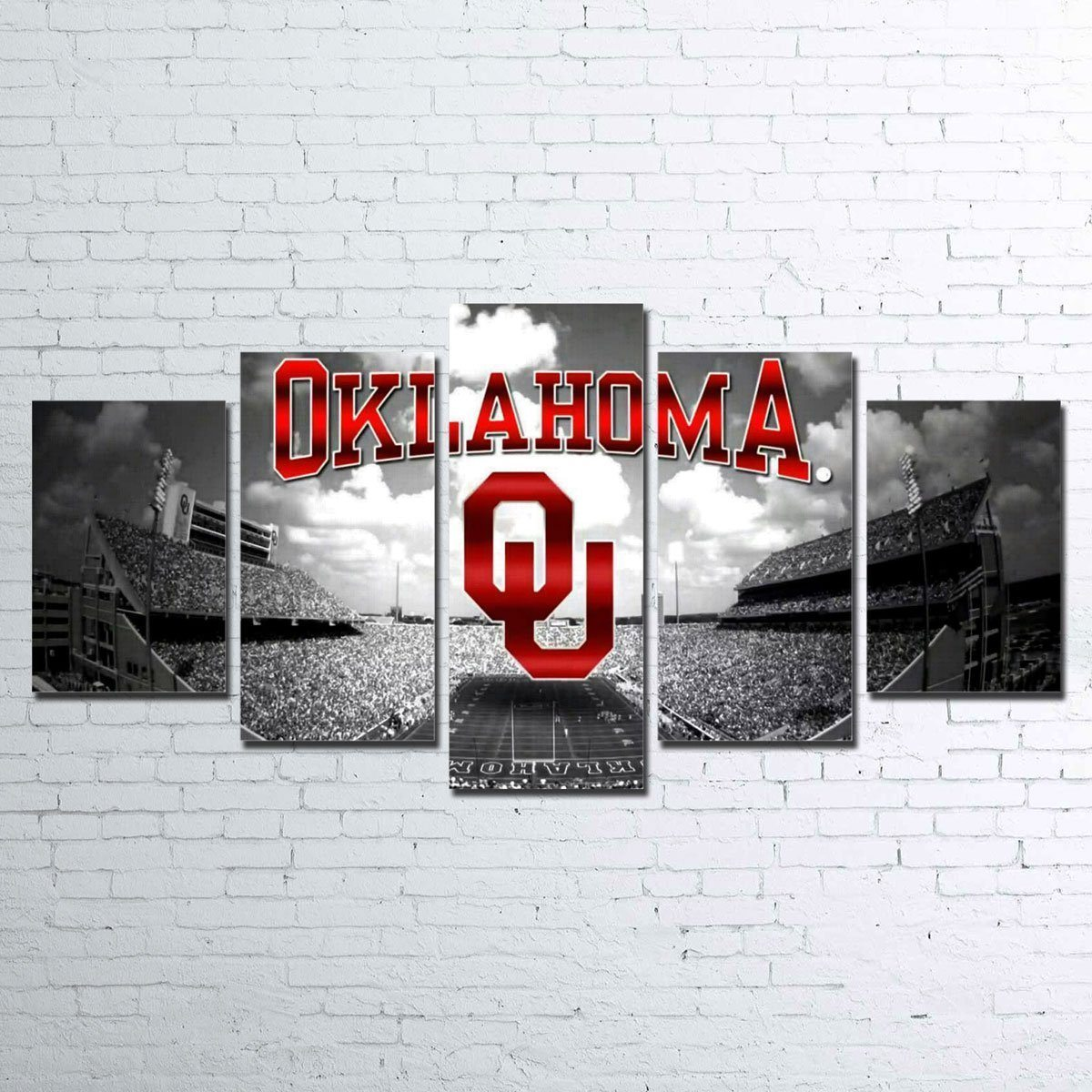 Canvas - Oklahoma Sooners 5 Piece Canvas