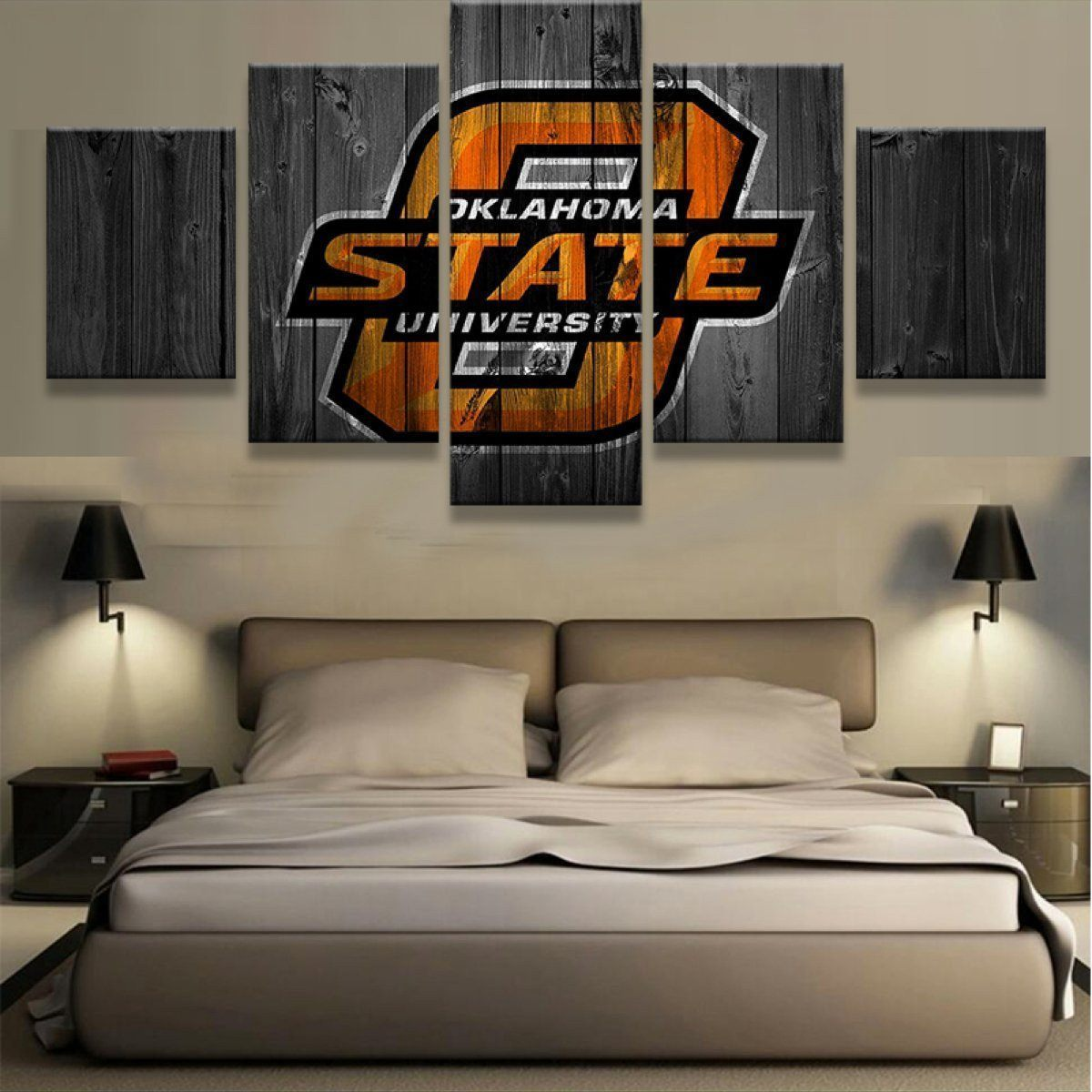 Canvas - Oklahoma State 5 Piece Canvas